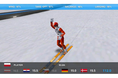 Super ski jump game for Android Download : Free Android Games