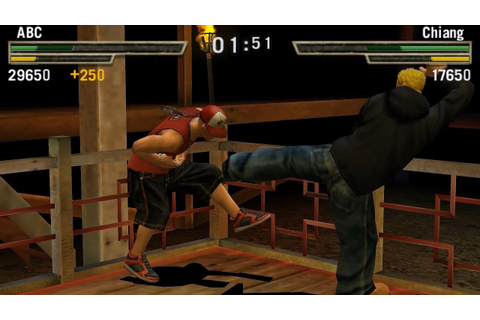 PPSSPP Emulator 0.9.8 | Def Jam Fight for NY: The Takeover ...