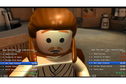 Lego Star Wars: The Complete Saga Any% Speedrun (3:22:06 ...