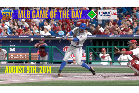 MLB 14: The Show - Game of The Day - Mets vs Phillies ...