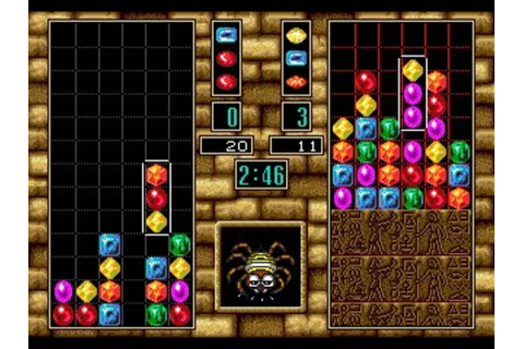 Columns III: Revenge of Columns (MD / Mega Drive) Screenshots