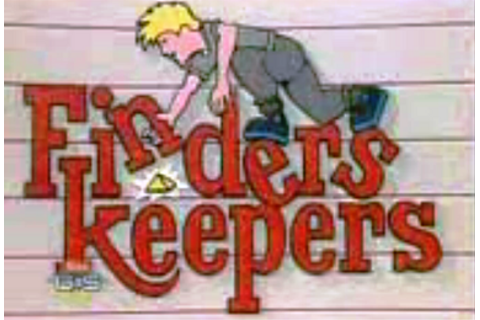 Finders Keepers (U.S. game show) - Wikipedia