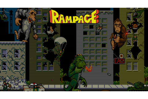 Rampage Style Games For iOS