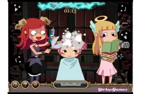 Devilish hairdresser LVL 1 - YouTube