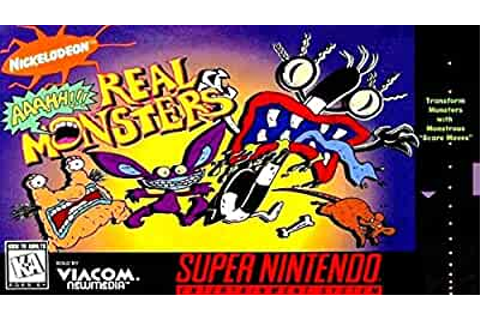 Amazon.com: Aaahh!!! Real Monsters: Video Games