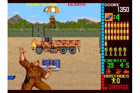 Operation Wolf (Arcade) | Gaming History 101