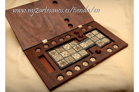 Royal Game of Ur board game by MJ2Artesanos on Etsy, €50 ...