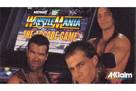 Multi-Platform WWF WrestleMania: The Arcade Game ...