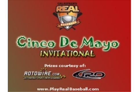 Cal Ripken's Real Baseball Announces Cinco de Mayo Tournament