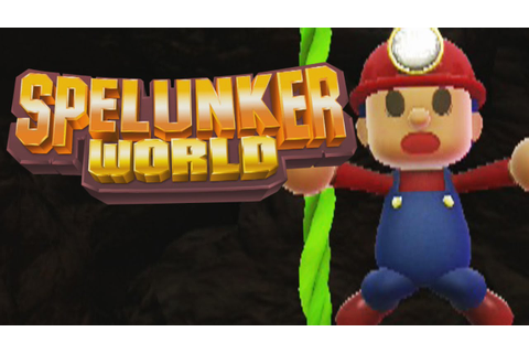 TROLL Game? - Spelunker World (PS4) - YouTube
