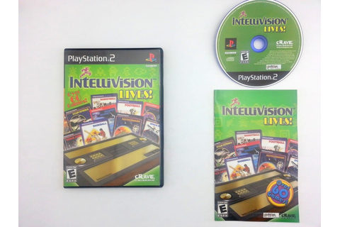 Intellivision Lives game for Sony Playstation 2 PS2 ...