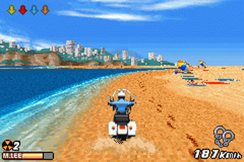 Play Road Rash - Jailbreak Nintendo Game Boy Advance ...