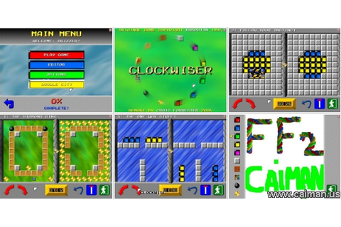 Caiman free games: Clockwiser by IshiSoft.