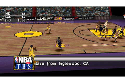 [PS1] NBA Live 97 - NBA Finals - YouTube