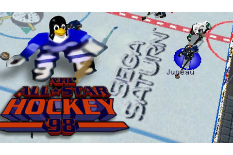 [LinuxPlaying] NHL All Star Hockey 98 ( Saturn ) - YouTube