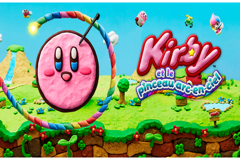 solution Kirby et Le Pinceau Arc-En-Ciel - Zoneasoluces.fr