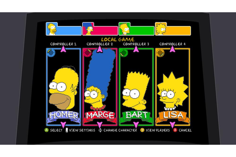 'The Simpsons' Arcade Game Returns in Style