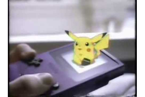 Pokemon Game Boy Link Cable Commercial feat Drake Bell ...