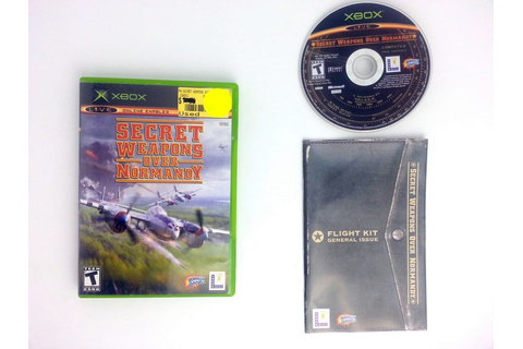 Secret Weapons Over Normandy game for Xbox (Complete ...
