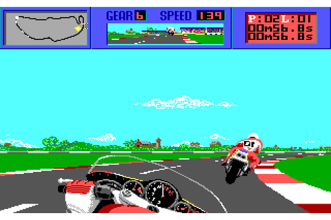 The Cycles: International Grand Prix Racing (1989 - DOS ...