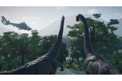 Jurassic World Evolution-releasedatum + nieuwe gameplay - NWTV