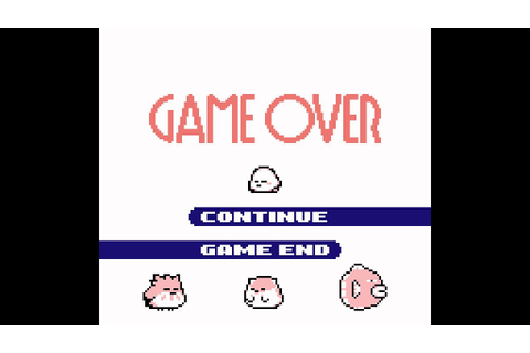 Kirby's Dream Land 2 OST (Game Boy) - Track 26/31 - Game ...