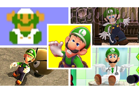 EVOLUTION OF LUIGI DEATHS & GAME OVER SCREENS (1983-2018 ...