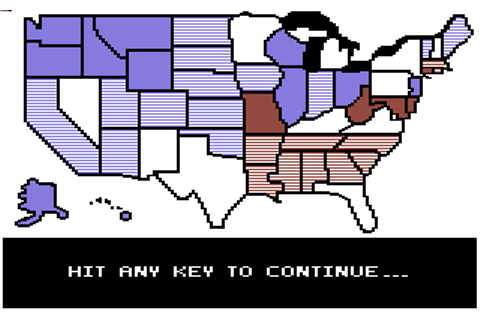 President Elect: 1984 Edition - Commodore 64 Game / C64 ...