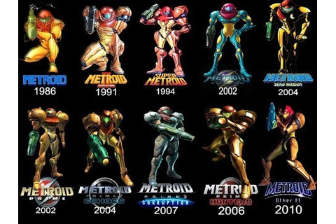 My Top 10 Metroid Games - YouTube