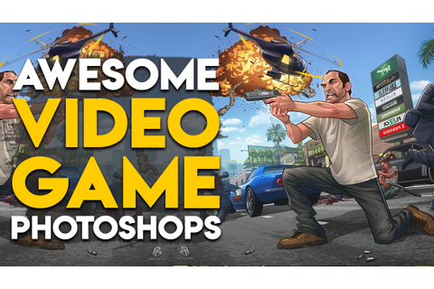 10 Photoshopped Video Games That Gamers Want To Be Made ...