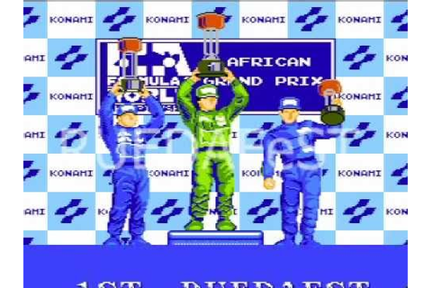 F1 Sensation Podium. 1993 Konami Nintendo - YouTube