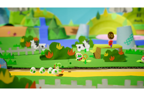 Yoshi's Crafted World comes to Switch during spring 2019 ...
