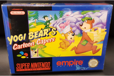 Yogi Bear's : Cartoon Capers - Super Gaby Games