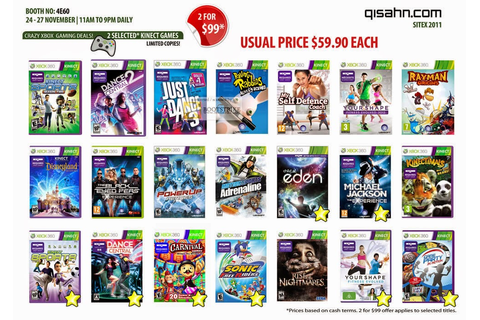 The gallery for --> Xbox 360 Kinect Games List