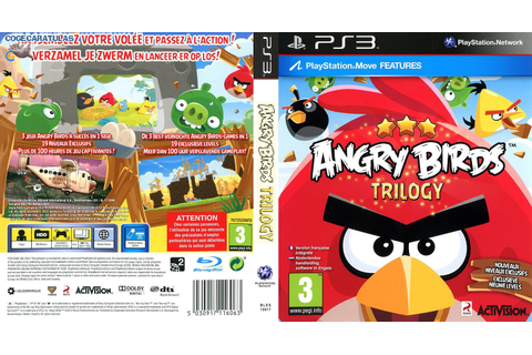 Games Covers: Angry Birds Trilogy - PS3