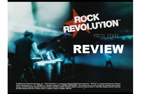 Rock Revolution - Game Review - YouTube