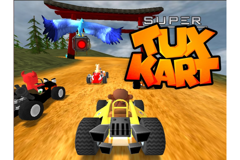 Download SuperTuxKart - Best Racing Game On Linux?