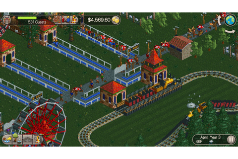 RollerCoaster Tycoon Classic faithfully recreates the ...