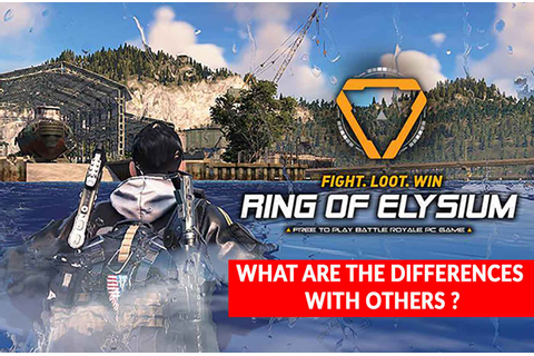 What are the differences between Ring of Elysium (ROE ...