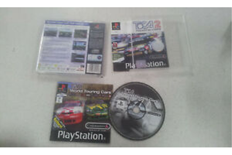 TOCA 2 Touring Cars PS1 Game USED PAL Region | eBay