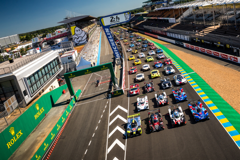 The official photo of the 62 cars entered for the 24 Hours ...