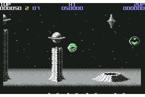 Wizball (1987) by Sensible Software C64 game