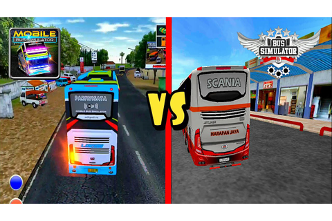 Top 2 Android Games Bus Simulator Indonesia BUSSID vs ...