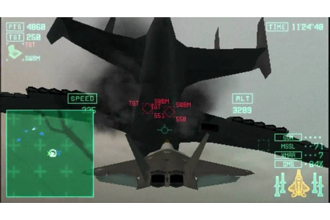 Ace Combat X: Skies of Deception - 09 - Starscream VS ...