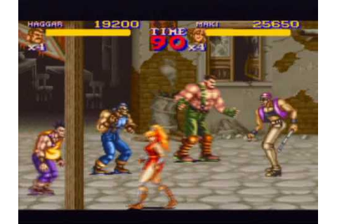 Final Fight 2 [ファイナルファイト2] Game Sample - SNES/SFC ...