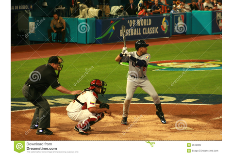 Baseball game editorial stock image. Image of catcher ...