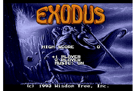 Exodus: Journey to the Promised Land (1993) by Wisdom Tree ...