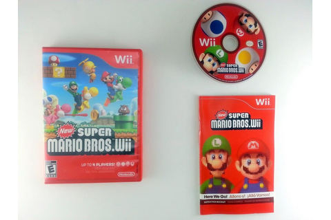 New Super Mario Bros. Wii game for Wii (Complete) | The ...