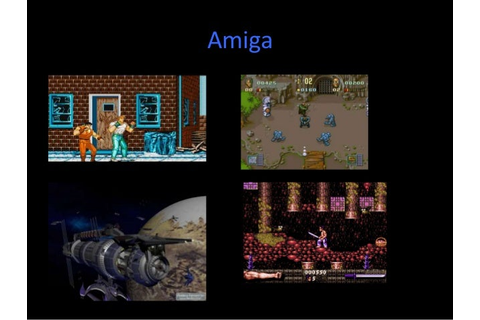 History of Video Games up to 90s