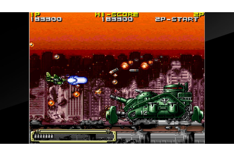 Arcade Archives: KOUTETSU YOUSAI STRAHL lands on the ...
